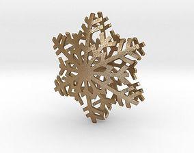 3D print model Snowflake Star
