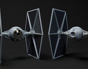 TIE FIGHTER - STAR WARS 3D model