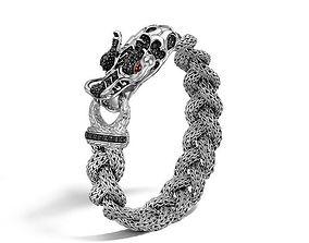 3D printable model bracelets DRAGON BRACELET