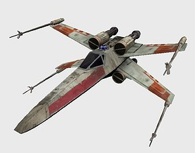 3D model Xwing Starfighter