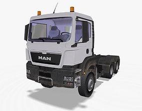 MAN TGS Truck 3D model