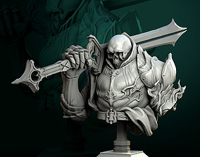 Vold the Dead Lord bust pre-supported 3D print model
