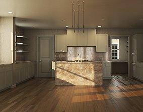 HD Modular House 3D asset