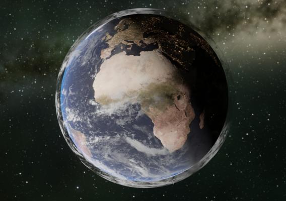 realistic earth