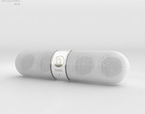 3D model Beats Pill 2-0 Wireless Speaker Gold