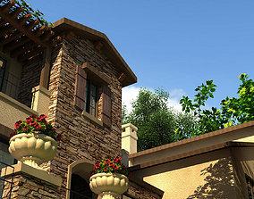 Villa 023 3D model