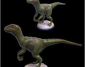 Raptor 3D print model texture