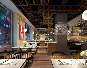 Light Restaurant teahouse cafe drinks clubhouse 18 3D