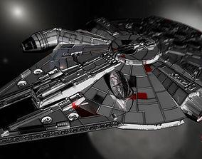 millennium falcon 3D