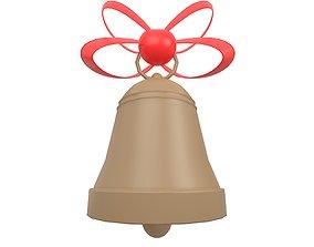 Christmas Bell v1 003 3D model