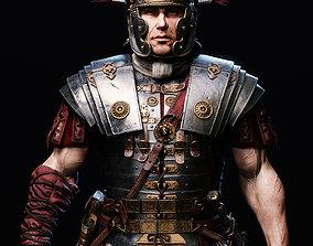 Roman Centurion Evocatus 3D model realtime