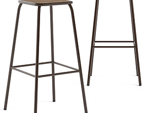 Cult Furniture Brooklyn Stool 3D model