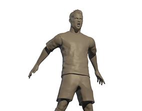 Cristiano Ronaldo Siiii 3D print model