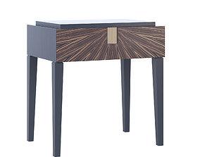 Langham Bedside Table 3D model