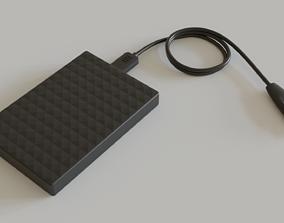 3D model external-hard-drive Esternal hard drive