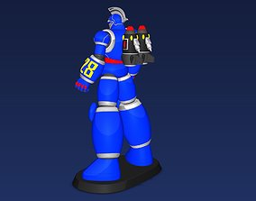 tetsujin28 modeling robot low poly other