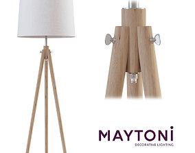 Floor lamp Z177-FL-01-BR Maytoni Modern free 3d model