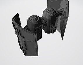 3D printable model Star-Wars-tie-bomber