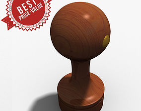 3D model Rubber Stamp circle
