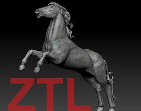 Horse Statue 3D print model