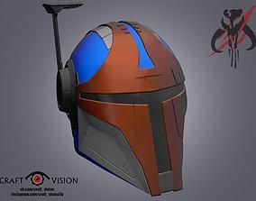 Mandalorian Helmet Stalker 3D model
