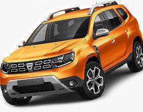3D model Dacia Duster 2018
