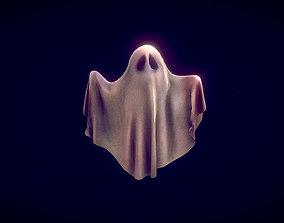 Ghost Toon 3D asset