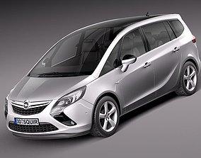 3D model Opel Zafira Tourer- 2012
