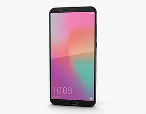 Huawei Honor View 10 Midnight Black 3D model