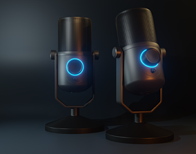 Microphone For Computer 3D printable model