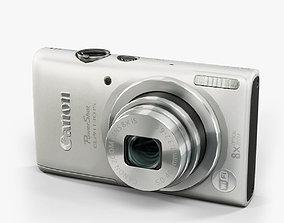 3D model Canon PowerShot Elph 130 Is compact digital