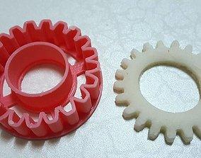 Cog Gear Engineering cookie cutter 3D printable model