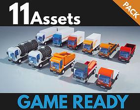 3D model Trucks package 01