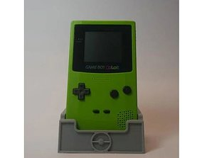 Gameboy Colour Stand-W Game Cartridge 3D printable model