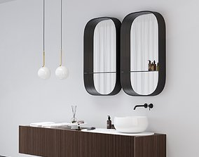 Ceramica Cielo DELFO Bathroom furniture 3D model
