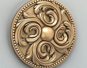 3D model Round rosette 019