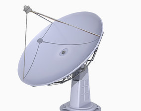 Satellite Dish 3D model low-poly