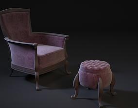 chair pouf 3D