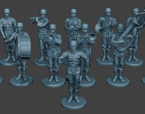 German soldiers Military Band Pack1 ww2 G8 3D model