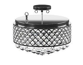 Crystal lamp 3D model