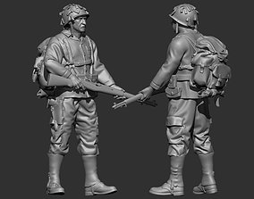 Soldier USA 3D print model