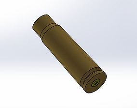 game-ready Kalashnikov bullet case model version one