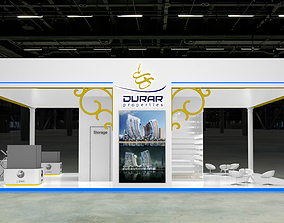 Exhibition Stand Booth design 3D