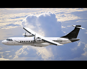3D ATR 72 Generic Black