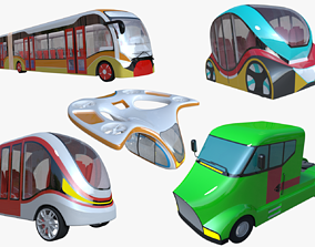 Vehicles II 3D model