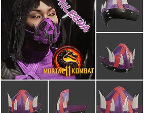 Mileena mask from Mortal Kombat 11 - 3D printable model 2
