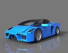 Lego Sport Car 3D