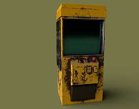 Post Apocalyptic Claw Machine or Slot Machine 3D model