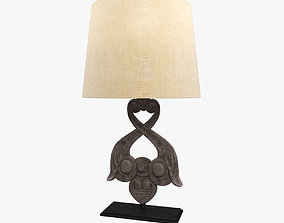 Restoration Hardware 18th wall anchor table lamp 3D asset