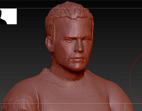 3D printable model Paul walker Brian OConner FAST AND